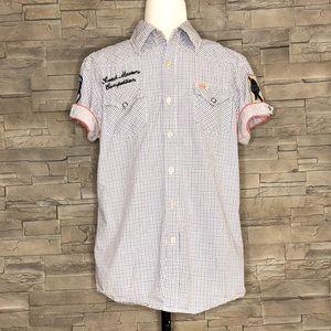 Scotch & Soda short-sleeved button-down shirt